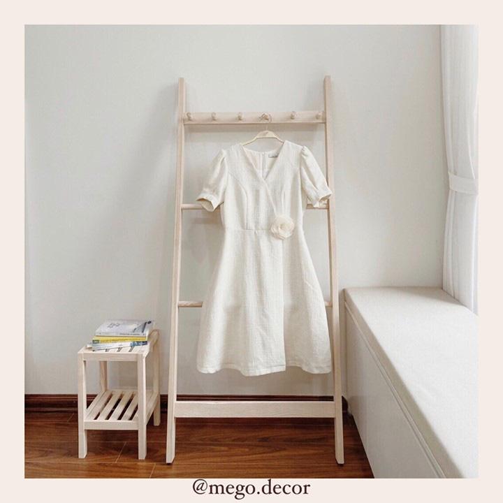 Thang gỗ treo quần áo tiện lợi kiêm luôn đồ decor giá chỉ từ 250k - Ảnh 4.