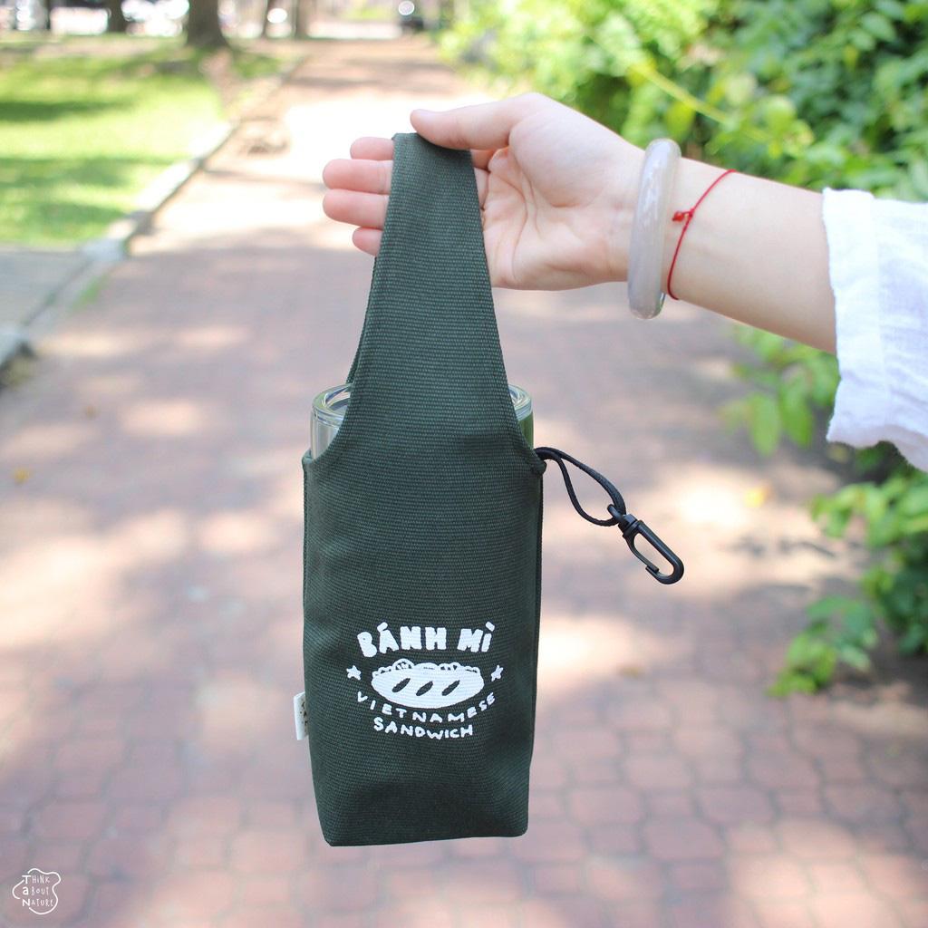 Túi vải đựng bình nước dưới 160k kiêm luôn phụ kiện xinh xẻo - Ảnh 7.