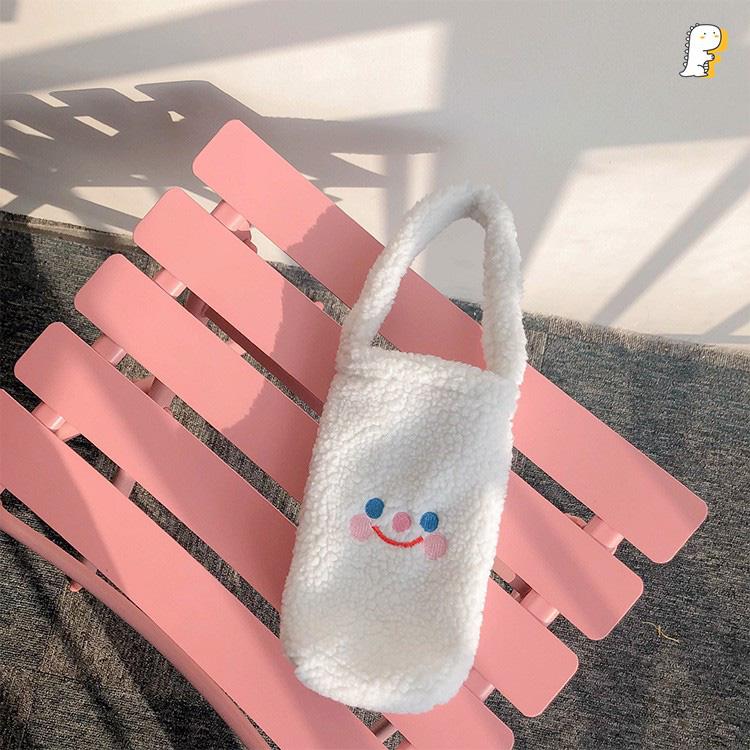 Túi vải đựng bình nước dưới 160k kiêm luôn phụ kiện xinh xẻo - Ảnh 9.