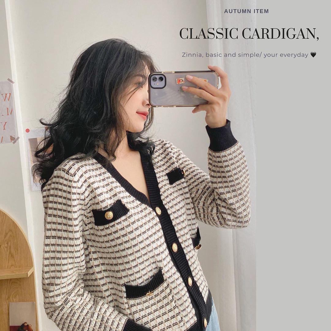 6 mẫu cardigan điệu đà max xinh giá từ 320k - Ảnh 6.