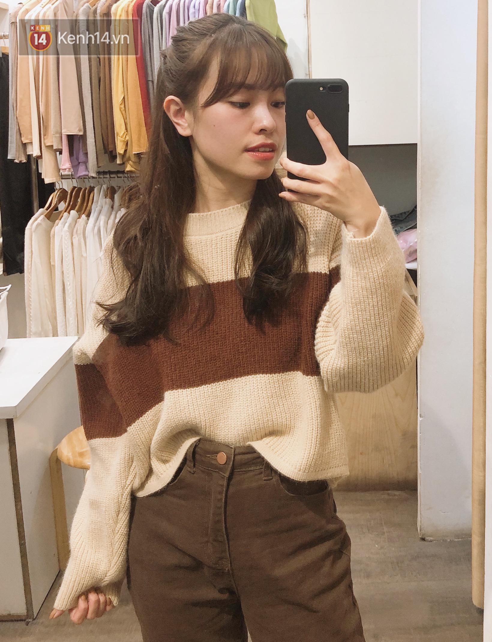Mua áo len ở khu Chùa Láng: Chỉ từ 280K đã sắm được áo vừa xinh vừa ấm - Ảnh 2.