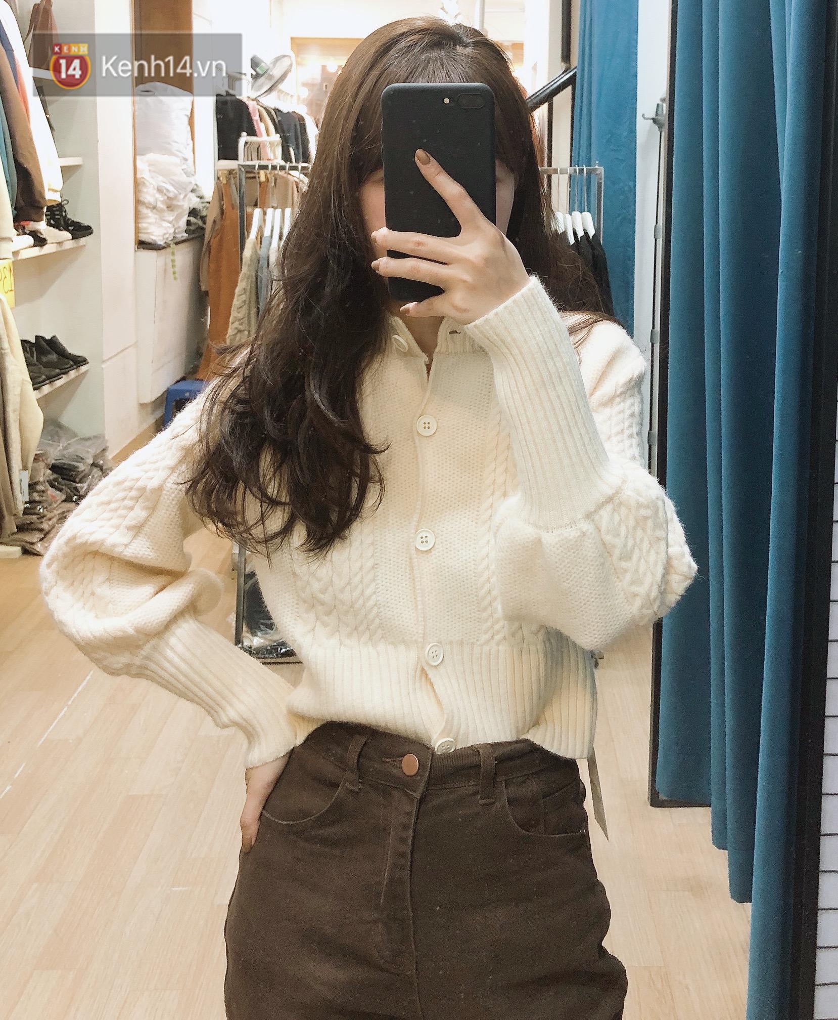 Mua áo len ở khu Chùa Láng: Chỉ từ 280K đã sắm được áo vừa xinh vừa ấm - Ảnh 4.