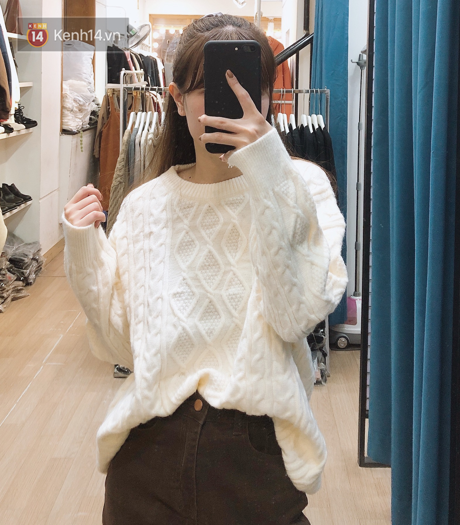 Mua áo len ở khu Chùa Láng: Chỉ từ 280K đã sắm được áo vừa xinh vừa ấm - Ảnh 5.