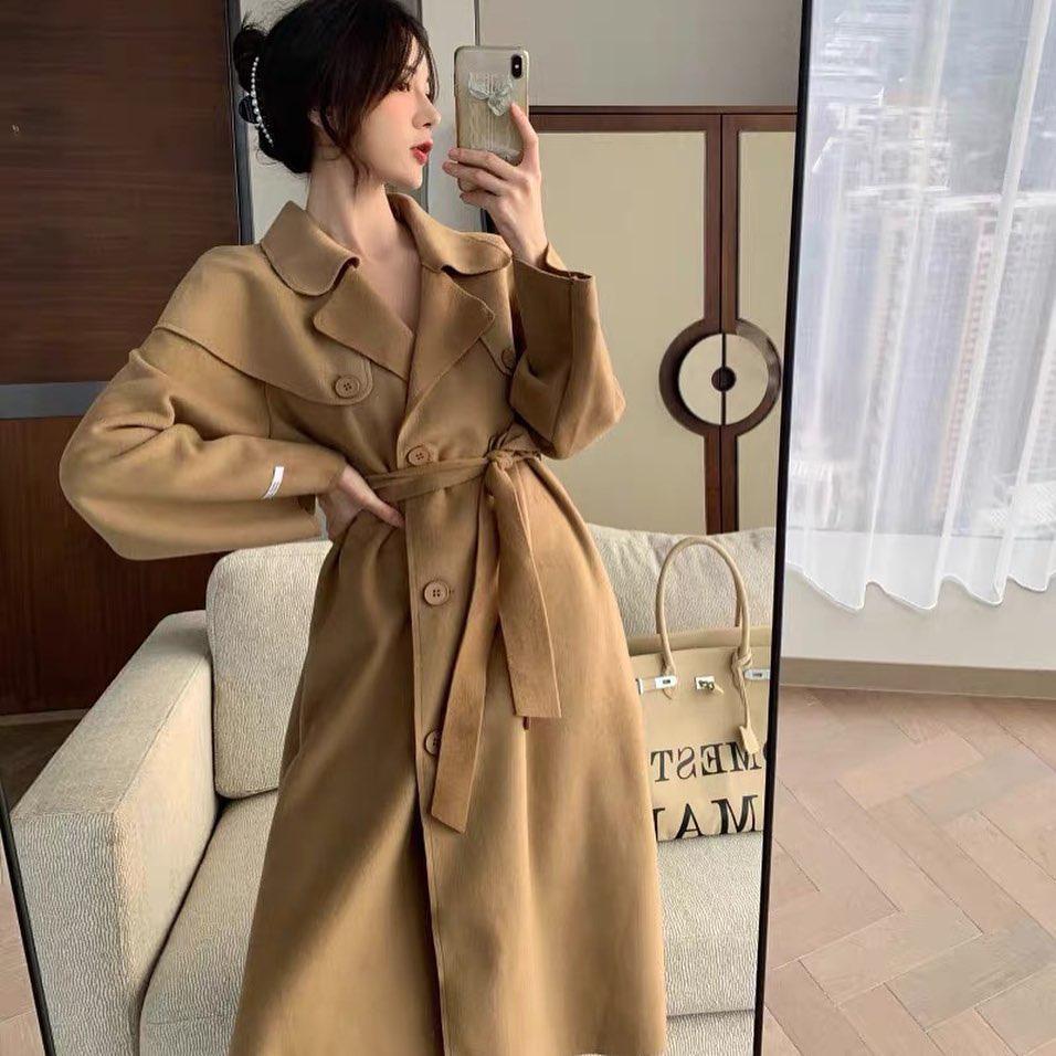 Bạn sắm áo dạ dáng dài chưa: Đầy mẫu xinh ngất mà giá chỉ từ 490K này - Ảnh 3.