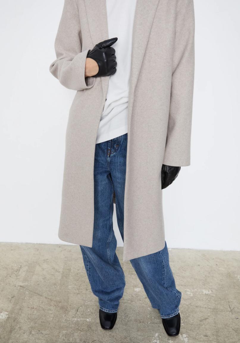 Bạn sắm áo dạ dáng dài chưa: Đầy mẫu xinh ngất mà giá chỉ từ 490K này - Ảnh 5.