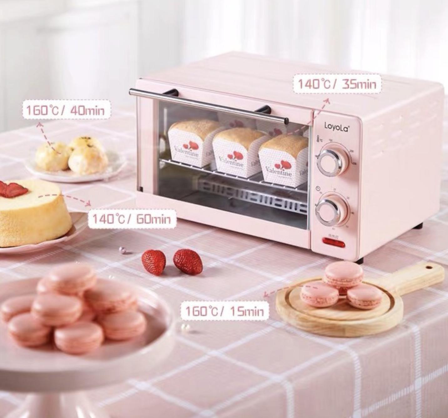6 lò nướng siêu xinh giá chỉ từ 499k, sắm về lên mood nấu ăn ngay - Ảnh 6.