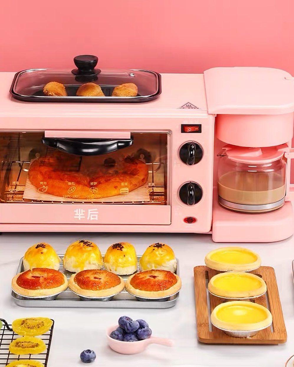 6 lò nướng siêu xinh giá chỉ từ 499k, sắm về lên mood nấu ăn ngay - Ảnh 4.