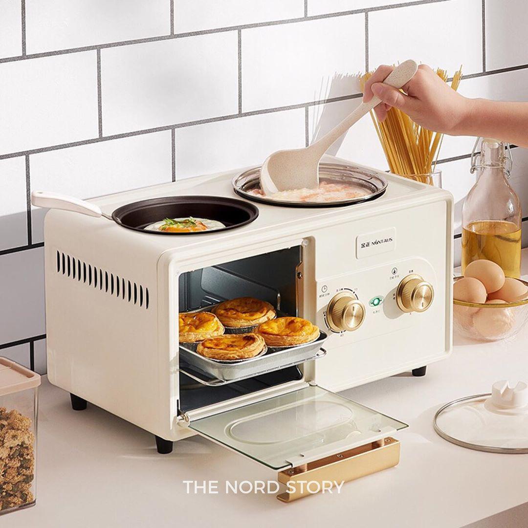 6 lò nướng siêu xinh giá chỉ từ 499k, sắm về lên mood nấu ăn ngay - Ảnh 2.