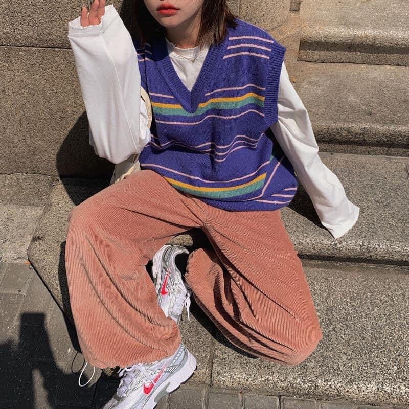 Trời rét nên mua quần nhung tăm: Giá chỉ từ 130K mặc vừa ấm vừa xinh - Ảnh 5.