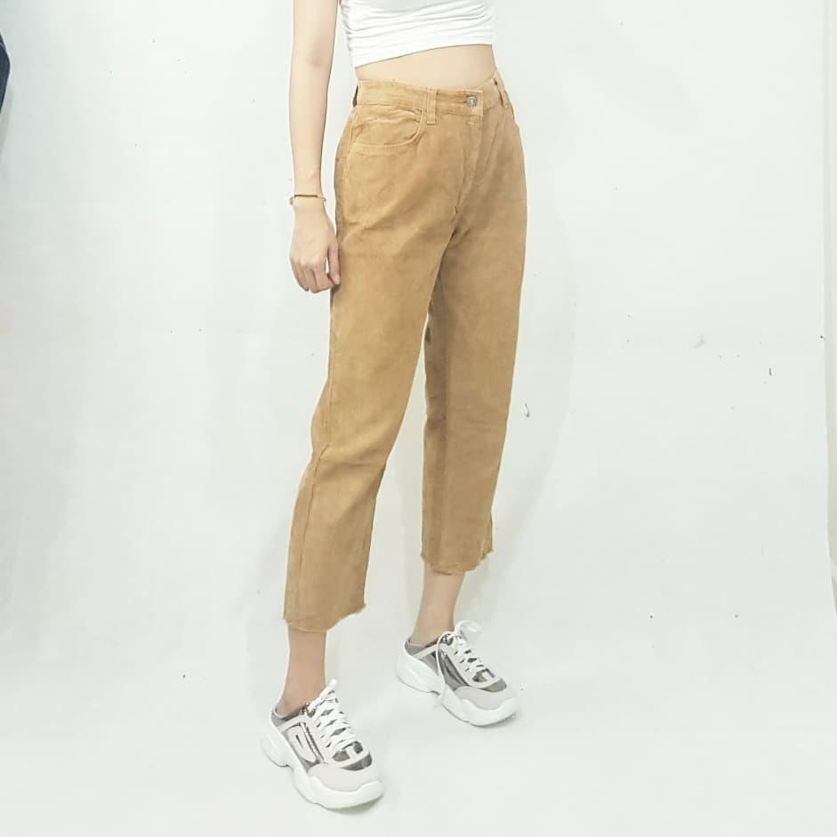 Trời rét nên mua quần nhung tăm: Giá chỉ từ 130K mặc vừa ấm vừa xinh - Ảnh 3.