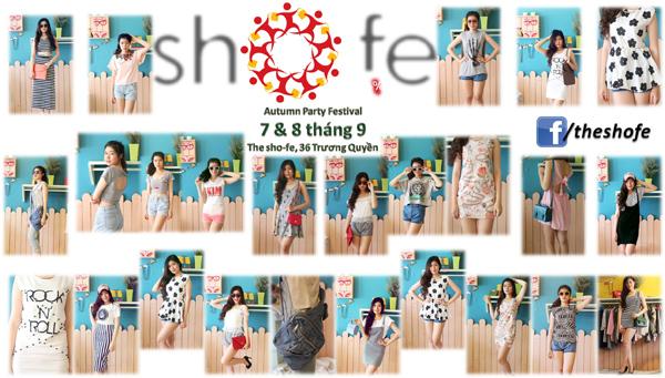 Lễ hội mùa thu 7, 8/9 và đêm chung kết Miss sho-fe 14/9 5