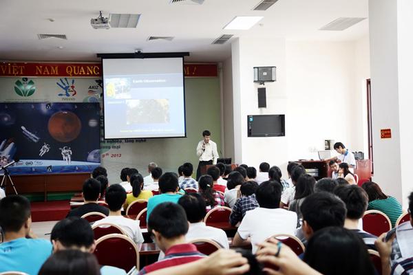 Sinh viên USTH tổ chức ngày hội không gian 5