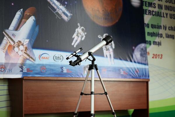 Sinh viên USTH tổ chức ngày hội không gian 1