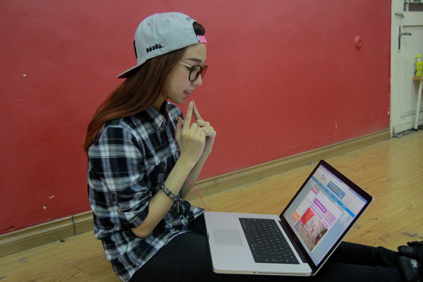 Đột nhập phòng tập ngắm Min (St.319) học tiếng Hàn siêu cute 4