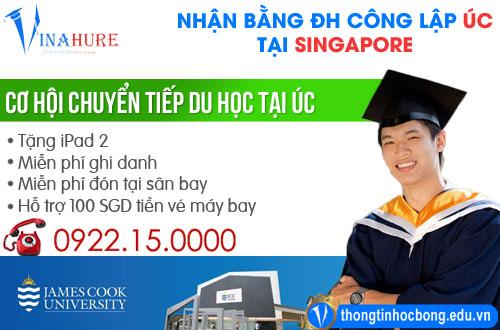 Du học Singapore: Lấy bằng đại học công lập của Úc cùng ĐH James Cook 1