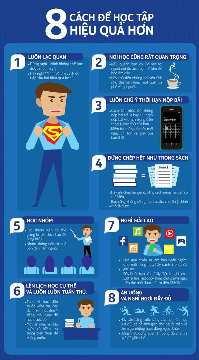 8 cách để học tập hiệu quả hơn 1
