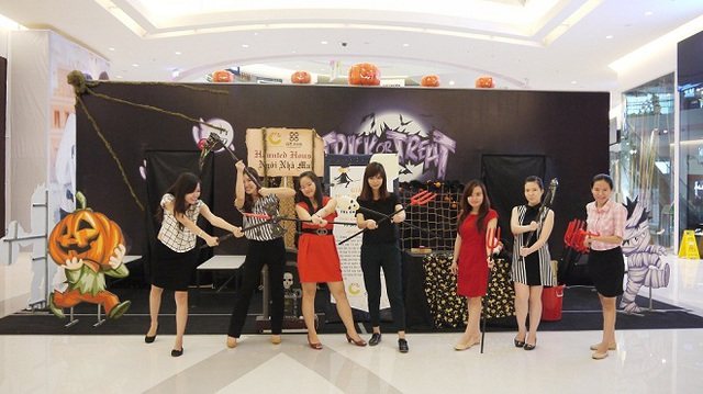 Đón Halloween tưng bừng tại Crescent Mall 4
