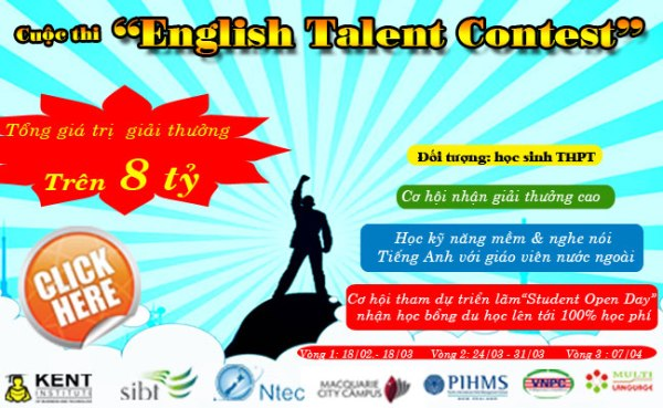 """Khởi động cuộc thi """"English Talent Contest"""" khối THPT năm 2013 1"""