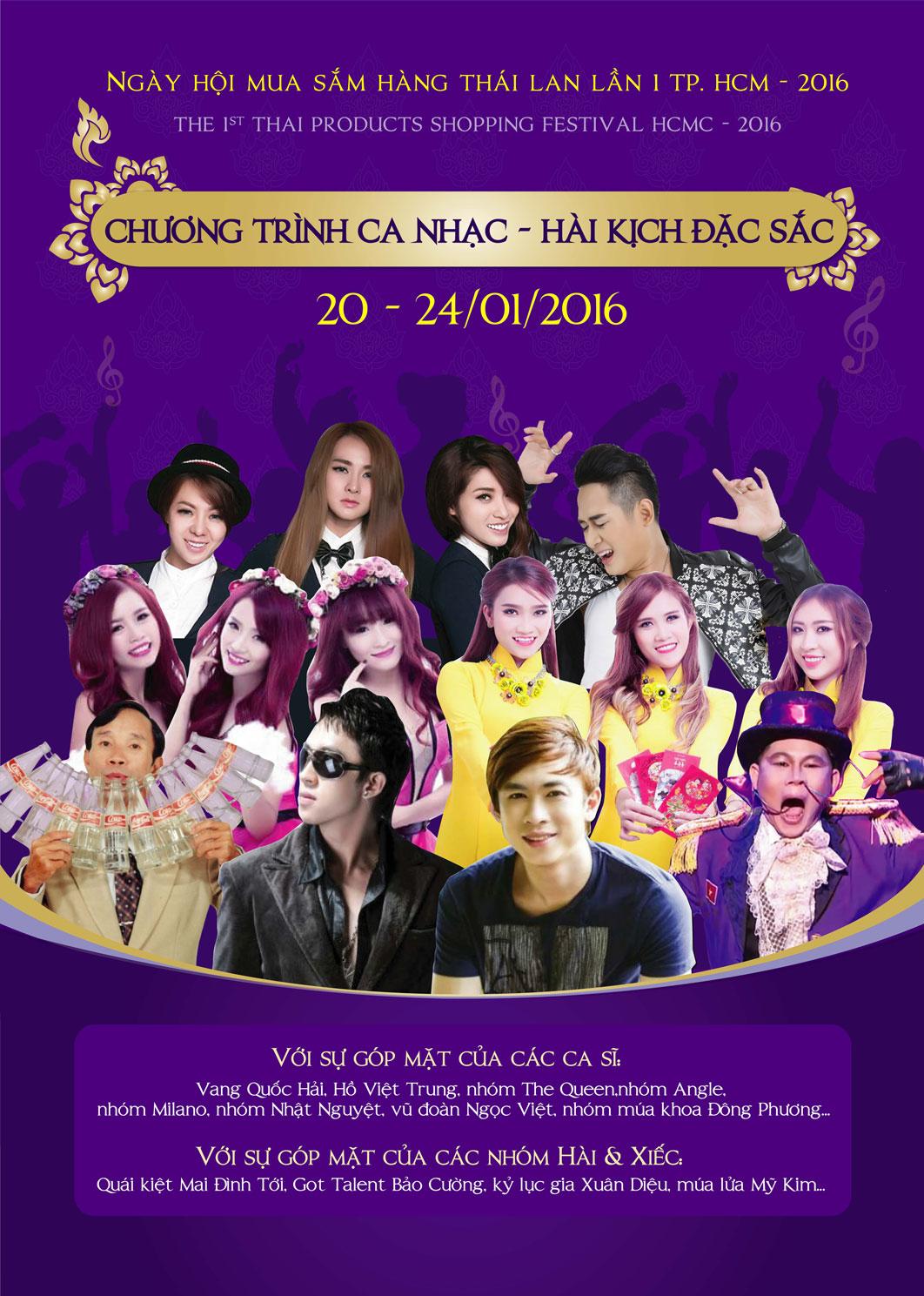 Tưng bừng ngày hội mua sắm hàng Thái Lan thứ nhất - Ảnh 1.