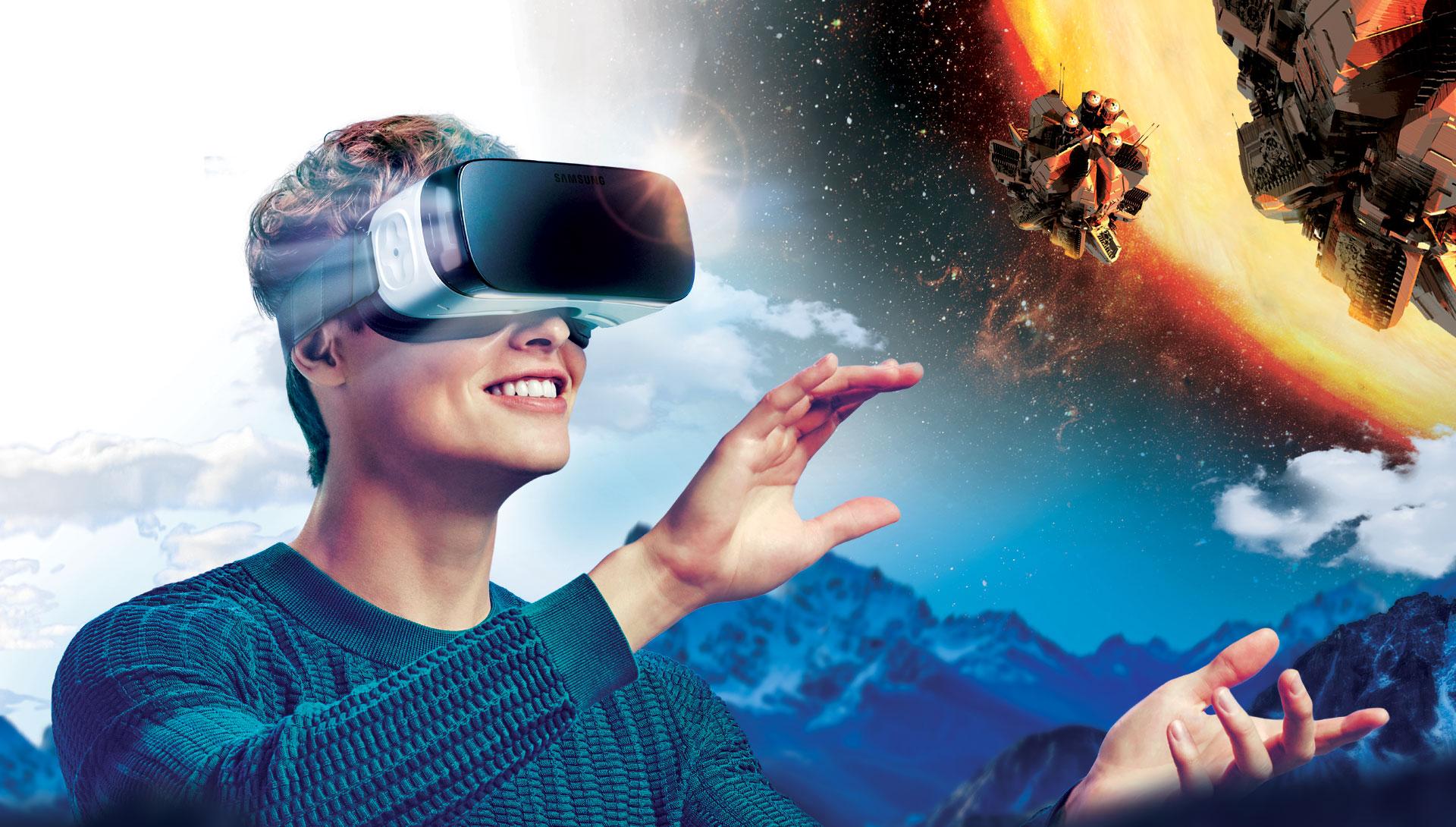 Mở khóa thế giới thực tế ảo với bộ đôi Galaxy S7 và Gear VR - Ảnh 1.