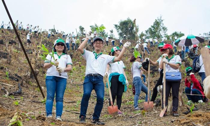Hàng trăm bạn trẻ hào hứng cùng Honda phủ xanh rừng - Ảnh 4.