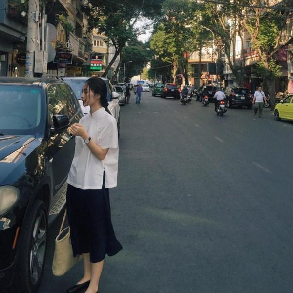 Helly Tống mặc tối giản mà vẫn nổi bật trên phố nhờ kiểu tóc tết phá cách - Ảnh 5.