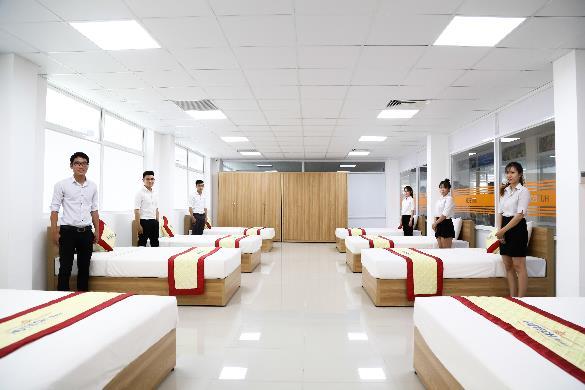 Chiêm ngưỡng hệ thống nhà hàng, khách sạn 5 sao của HUTECH - Ảnh 4.