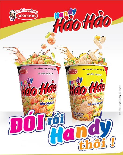 Mì ly Handy Hảo Hảo: Sợi mì dai, nước súp đậm đà, ăn là mê - Ảnh 1.