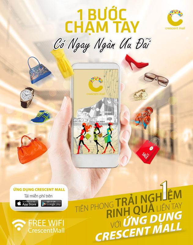 Thêm ưu đãi, thêm tiện ích cùng chương trình thẻ thành viên điện tử e-Membership Crescent Mall - Ảnh 1.