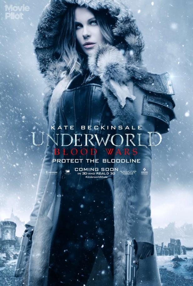Underworld 5 tung trailer hé lộ cuộc giao tranh đẫm máu của tộc sói và ma cà rồng - Ảnh 3.