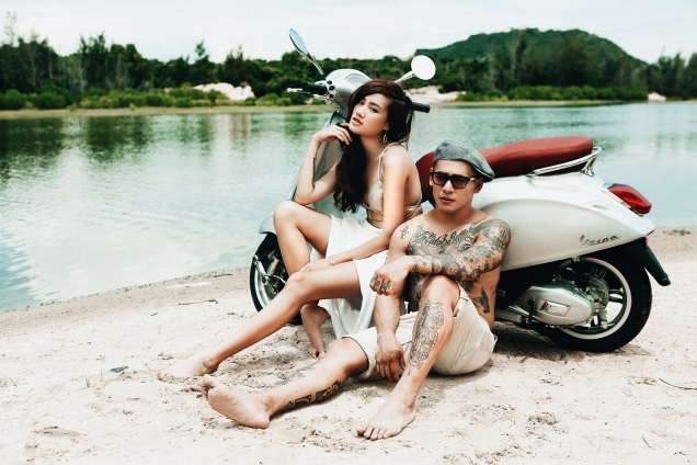 Ngẫu hứng cùng bộ hình của team Pông Chuẩn trong Vespa Top Stylist Contest - Ảnh 2.