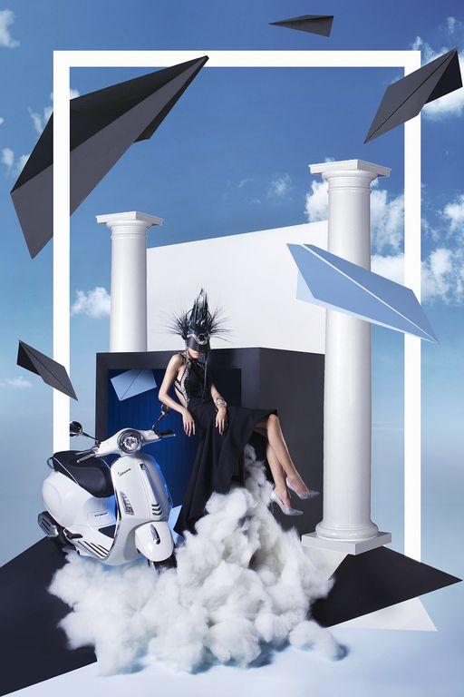 Cùng chiêm ngưỡng bộ hình siêu chất của Lê Minh Ngọc trong Vespa Top Stylist Contest - Ảnh 1.