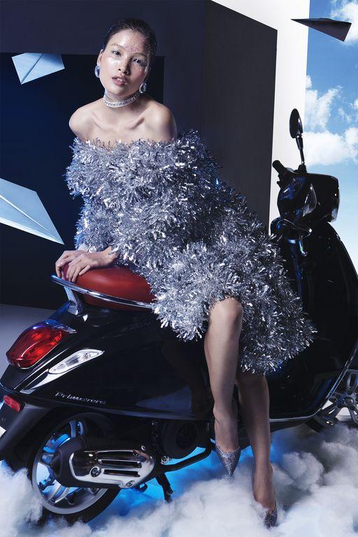 Cùng chiêm ngưỡng bộ hình siêu chất của Lê Minh Ngọc trong Vespa Top Stylist Contest - Ảnh 3.