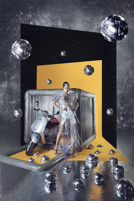 Cùng chiêm ngưỡng bộ hình siêu chất của Lê Minh Ngọc trong Vespa Top Stylist Contest - Ảnh 4.