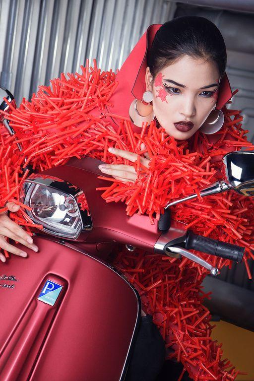 Cùng chiêm ngưỡng bộ hình siêu chất của Lê Minh Ngọc trong Vespa Top Stylist Contest - Ảnh 7.