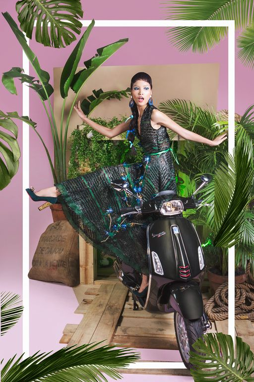 Cùng chiêm ngưỡng bộ hình siêu chất của Lê Minh Ngọc trong Vespa Top Stylist Contest - Ảnh 14.