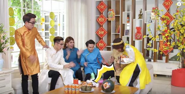 Dàn sao Việt hội tụ trong clip Tết vừa ý nghĩa vừa cực nhắng nhít - Ảnh 5.