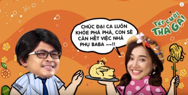Dàn sao Việt hội tụ trong clip Tết vừa ý nghĩa vừa cực nhắng nhít - Ảnh 8.
