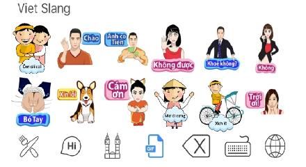 """Sticker tiếng Việt siêu ngộ nghĩnh: Trào lưu hot """"càn quét"""" thế giới ảo - Ảnh 2."""
