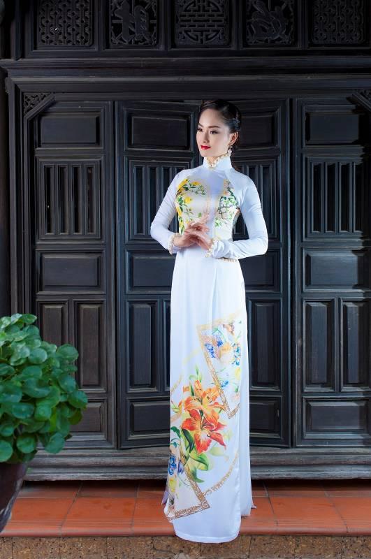 Toả sáng vẻ đẹp Tháng 3 cùng lụa Thái Tuấn - Ảnh 7.