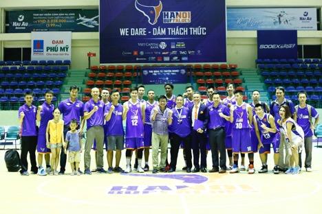 """Hàng ngàn khán giả thủ đô """"bùng nổ"""" cùng Hà Nhi Idol tại Giải bóng rổ chuyên nghiệp Việt Nam - Ảnh 8."""