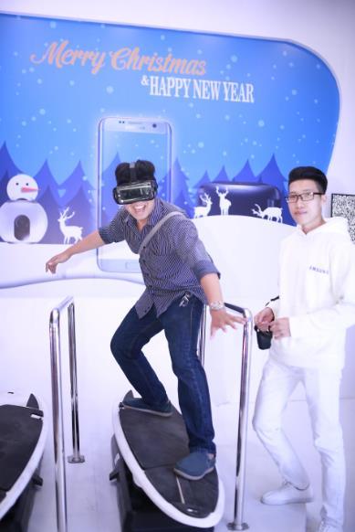 Cùng Samsung trải nghiệm trượt tuyết giữa không gian ảo đầu tiên tại Việt Nam - Ảnh 5.