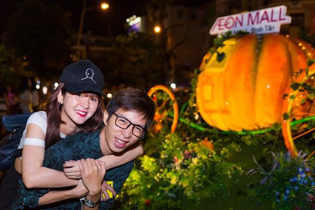 Giới trẻ Sài thành đón Halloween tại Làng bí thần tiên - Ảnh 5.