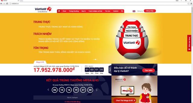 Trị giá giải đặc biệt xổ số tự chọn số điện toán (Jackpot) đã lên gần 18 tỷ đồng - Ảnh 1.