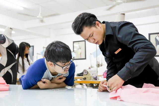 """""""Giấc mơ Geisha"""" của SV HUTECH dự thi """"Nhà Thiết kế Tài năng Việt Nam"""" - Ảnh 4."""