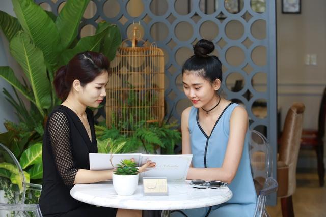 Siêu mẫu Kim Nhung lột xác với làn da trắng nõn - Ảnh 5.