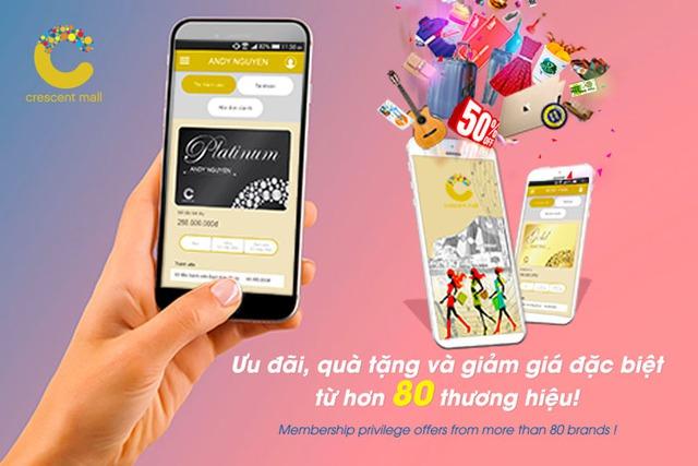 Thêm ưu đãi, thêm tiện ích cùng chương trình thẻ thành viên điện tử e-Membership Crescent Mall - Ảnh 2.