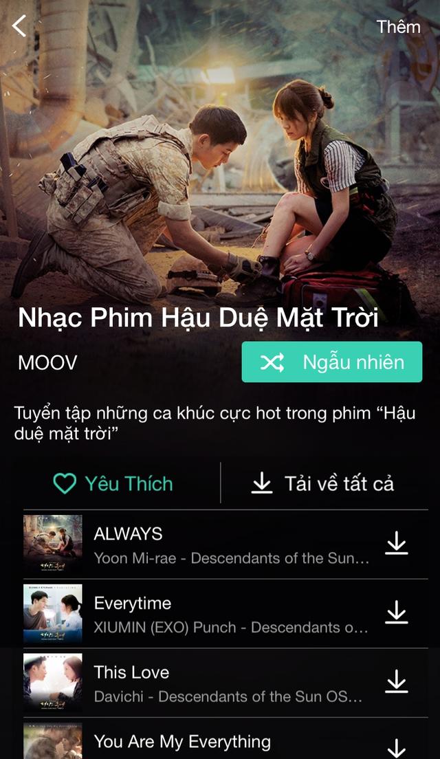 MOOV – Ứng dụng nghe và tải nhạc có bản quyền mới vừa cập bến Việt Nam - Ảnh 6.