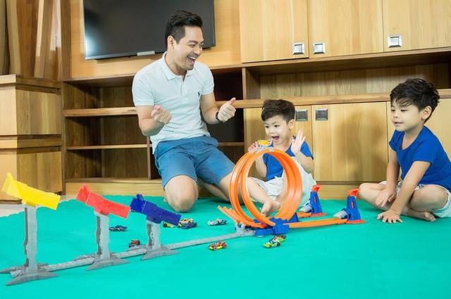 MC Phan Anh bật mí 3 bước biến xe đồ chơi của con thành xe hơi xịn cho bố - Ảnh 2.