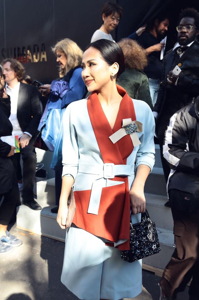 Cô gái Việt hội ngộ loạt fashionista đình đám thế giới tại Paris Fashion Week - Ảnh 12.